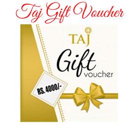 Taj Voucher to Mumbai