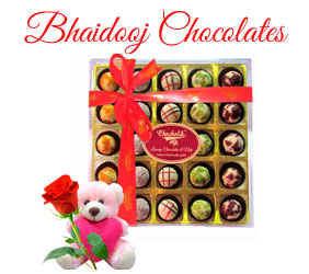 Bhai Dooj Chocolates to Mumbai