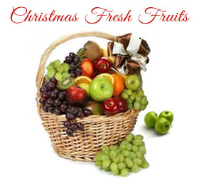 Christmas Fresh Fruits to Mumbai