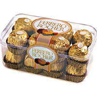 Send Rakhi to Mumbai with Ferrero Rocher Chocolates 16 Pieces