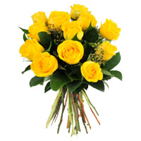 Flowers to Mumbai : Yellow Roses