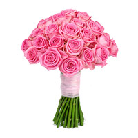 Online Pink Roses Bouquet 50 flowers to Mumbai for Friendship Day