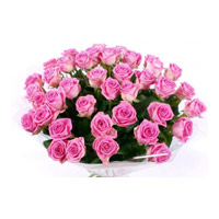 Order Pink Roses Bouquet 60 flowers to Mumbai on Friendship Day