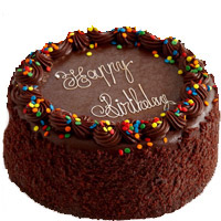 Birthday Cakes to Mumbai Barc. 1 Kg Happy Birthday Chocolate Cake to Mumbai