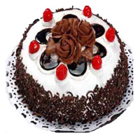 Online Delivery of Cake for Best Friend. 3 Kg Black Forest Cake From 5 Star Bakery, Friendship Day Cakes to Mumbai