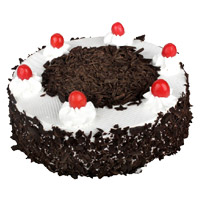 Send Valentine's Day Eggless Cakes to Mumbai - Black Forest Cake