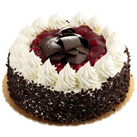 Deliver 1 Kg Black Forest Cake to Mumbai From 5 Star Hotel Online