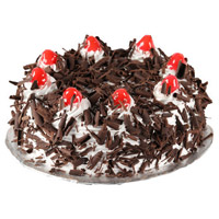 Place order to send 3 Kg Black Forest Cake to Mumbai From 5 Star Hotel