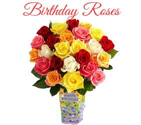 Send Birthday Roses To Mumbai