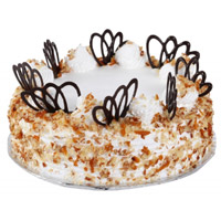 Send Online 1 Kg Butter Scotch Cake to Mumbai From 5 Star Hotel