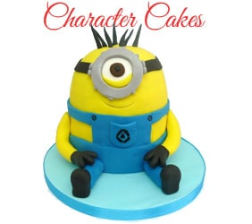 Character Cakes To Mumbai