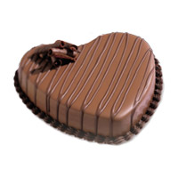 3 Kg Heart Shape Chocolate Cake Delivery to Mumbai