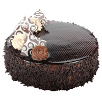 Midnight Cake delivery in Mumbai for 3 Kg Chocolate Cake From 5 Star Hotel