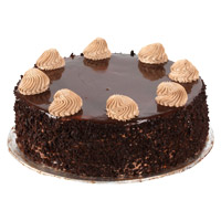 Online Cake Delivery in Mumbai to send 1 Kg Chocolate Cake From 5 Star Hotel
