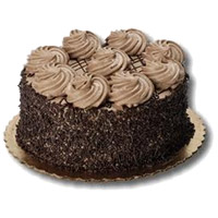 Send 2 Kg Chocolate Cake to Mumbai Online From 5 Star Hotel