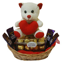 Online Chocolate  with teddibear Delivery in Mumbai