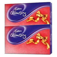 Rakhi Gift to Mumbai. 2 Cadbury Celebration Packs