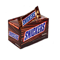 Best 32 Pcs Snickers Chocolate Box in Mumbai Online on Rakhi