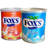 Send Rakhi Gifts to Mumbai that include 2 Box Fox Candy.