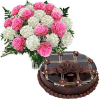 Mix Carnation and Chocolate Cakes to Mumbai
