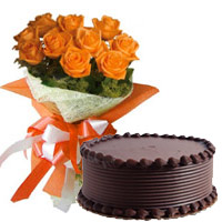 Send Valentine's Day Flowers Cakes to Mumbai