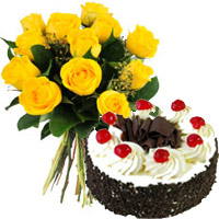 Send Cakes Flowers to Mumbai