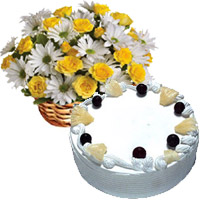 Online Eggless Cakes to Mumbai : Gifts to Mumbai