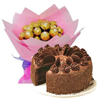 Send Karwa Chauth Cakes to Mumbai - Chocolates to Mumbai