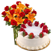 Karwa Chauth Cakes to Mumbai - Send Flowers to Mumbai