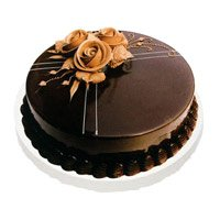 Send Karwa Chauth Cakes to Mumbai - Chocolate Truffle Cake