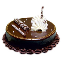 Send Cakes to Mumbai - Chocolate Truffle Cake From 5 Star