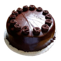 Eggless Valentine's Day Cake to Mumbai - Chocolate Truffle Cake