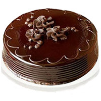 Valentine's Day Eggless Cakes in Mumbai - Chocolate Truffle Cake