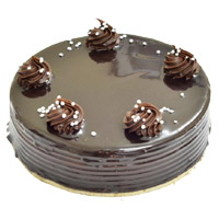 Cake Delivery in Mumbai and send 2 Kg Chocolate Truffle Cake From 5 Star Hotel