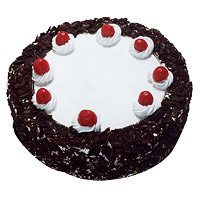 Deliver Valentine's Day Cakes to Mumbai - Black Forest Cake From 5 Star