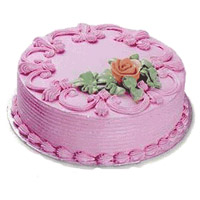 Eggless Cake Delivery in Mumbai - Strawberry Cake From 5 Star