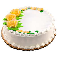Shop for Christmas Cakes to Ahmednagar in addition to 1 Kg Eggless Vanilla Cakes in Mumbai From 5 Star Bakery