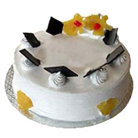 Valentine's Day Cakes to Mumbai - Pineapple Cake From 5 Star