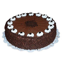 Eggless Cakes to Mumbai - Chocolate Cake From 5 Star
