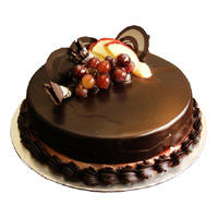 Send Valentine's Day Cakes to Mumbai - Chocolate Truffle Cake From 5 Star