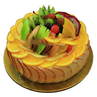 Send Fresh Cakes to Mumbai - Fruit Cake From 5 Star