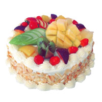 Deliver Valentine's Day Eggless Cakes to Mumbai - Fruit Cake