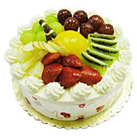 Online Valentine's Day Cake Delivery to Mumbai - Fruit Cake From 5 Star