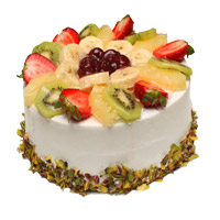 Online Cake Delivery in Mumbai to send 2 Kg Fruit Cake From 5 Star Hotel