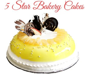 5 Star Bakery Cakes To Mumbai