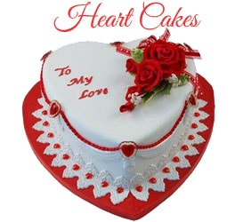 Heart Cakes To Mumbai