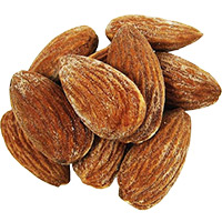 Send 1 Kg Roasted Almonds Dryfruits to Mumbai