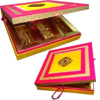 Deliver Fancy Dry Fruits Box of MDF 1 Kg in Mumbai, Gifts to Mumbai