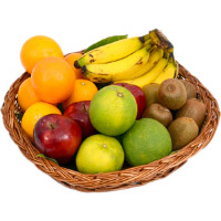 Deliver Bhaidooj Gifts in Mumbai including 2 Kg Fresh Fruits Basket