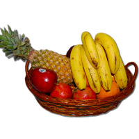 Send Bhaidooj fresh fruits with Gifts to Mumbai that is 1 Kg Fresh Fruits Basket